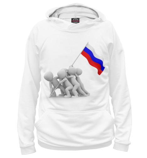 Худи Print Bar Флаг флаг пограничных войск россии великий новгород