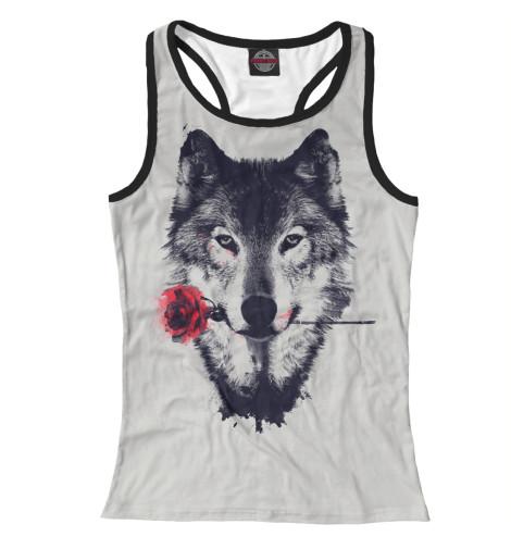Майка борцовка Print Bar Wolf майка борцовка print bar dead wolf