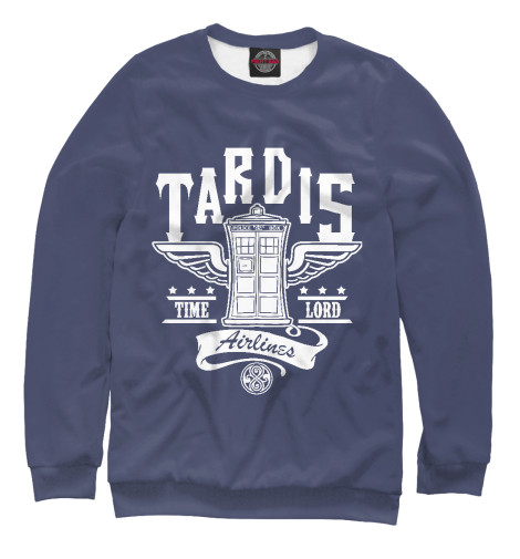 Свитшот Print Bar Tardis Airlines свитшот print bar tardis man