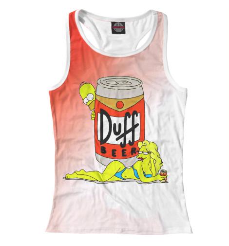 Купить Женская майка-борцовка Duff Beer SIM-738037-mayb-1