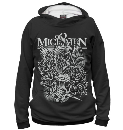 Худи Print Bar Of Mice & Men men of men