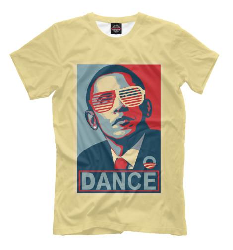 Футболка Print Bar Обама dance видеоигра для ps4 just dance 2018