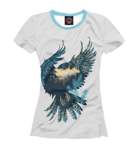 Купить Женская футболка Горный орел PTI-762506-fut-1