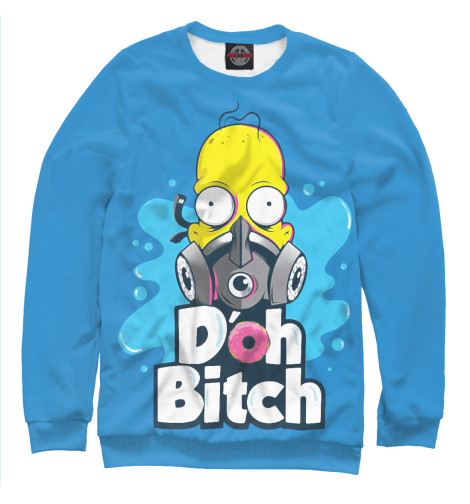 Свитшот Print Bar Homer Doh Bitch