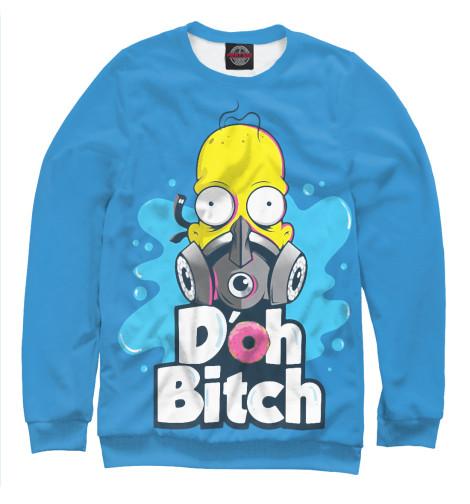 Купить Мужской свитшот Homer Doh Bitch SIM-124718-swi-2