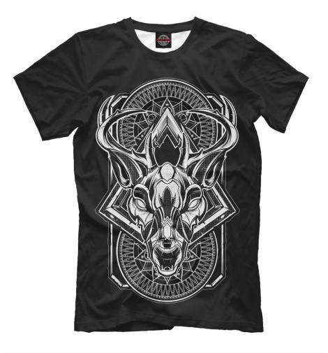 Футболка Print Bar Dark Deer футболка print bar dark owl