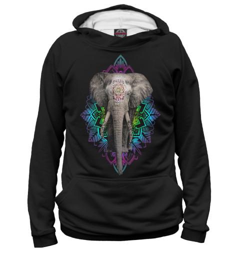 Худи Print Bar Индийский слон свитшот print bar слон