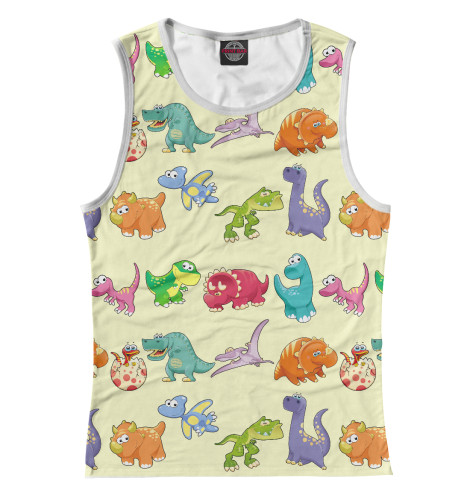 Майка Print Bar Динозаврики динозаврики для самых маленьких