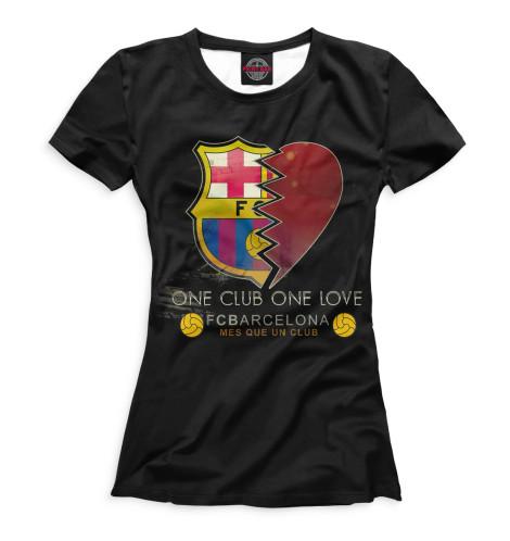 Женская футболка One Club One Love