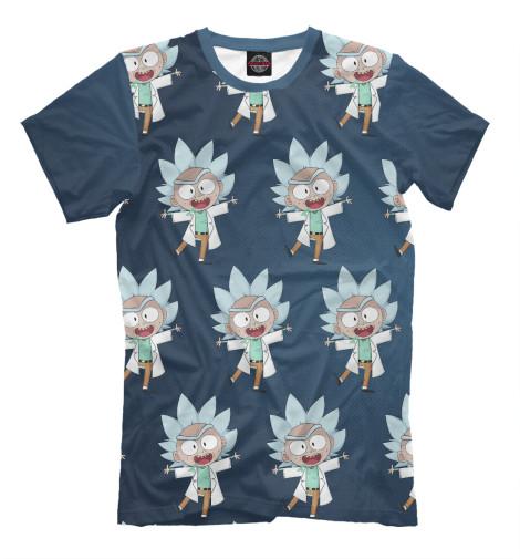 Купить Мужская футболка Рик Санчез RNM-570931-fut-2