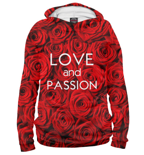 Худи Print Bar Love & Passion max klim love passion and family in