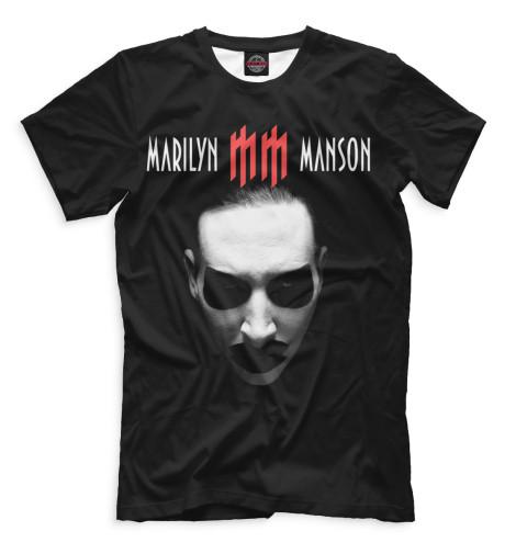Купить Мужская футболка Marilyn Manson MRM-544700-fut-2