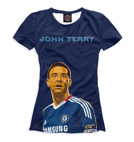 Женская футболка Джон Терри