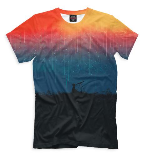 Мужская футболка Звездопад