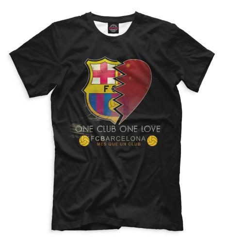 Мужская футболка One Club One Love