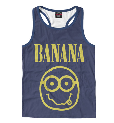 Майка борцовка Print Bar Banana Nerd nerd do well