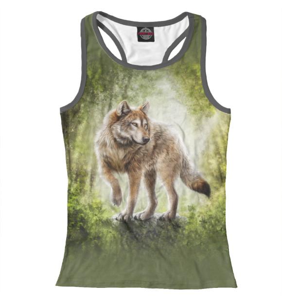 Купить Женская майка-борцовка Волк VLF-660188-mayb-1