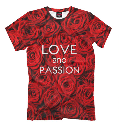 Футболка Print Bar Love & Passion футболка print bar shogun assassin