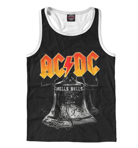 Майка борцовка Print Bar AC/DC Hells Bells мультиметр uyigao ac dc ua18