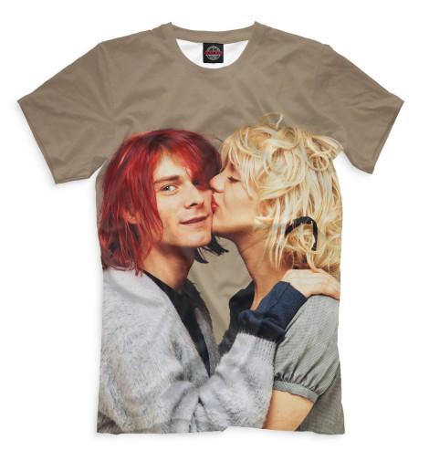 Мужская футболка Курт и Кортни