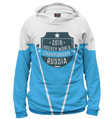 Женское худи Россия 2016 Print Bar HOK-672201-hud
