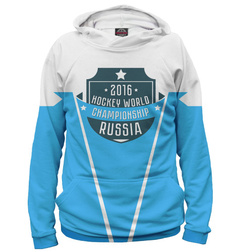 Мужское худи Россия 2016 Print Bar HOK-672201-hud