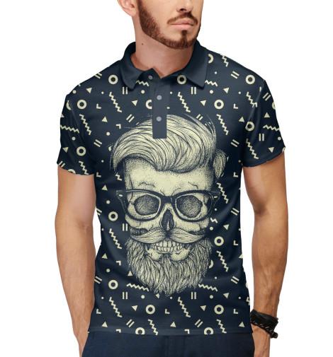 Поло Print Bar Hipster is Dead поло print bar hipster is dead