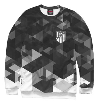 Женский Свитшот Atletico Madrid FC Black&White