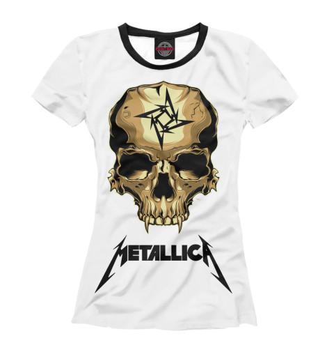 Футболка Print Bar Metallica Skull metallica metallica monsters of rock broadcast moscow russia 1991