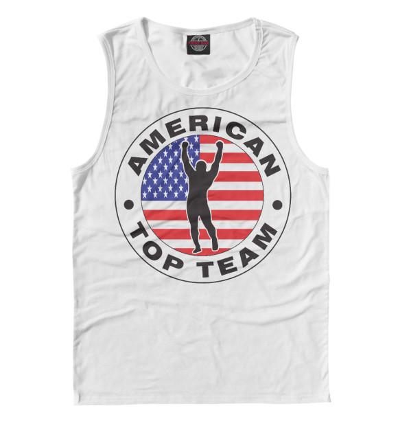 Купить Майка для мальчика American Top Team MNU-730226-may-2