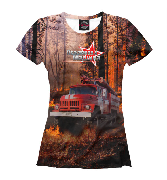 Купить Женская футболка Зил-131 APD-787080-fut-1