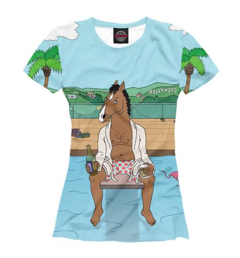 Футболка Print Bar BoJack The Horseman the bronze horseman