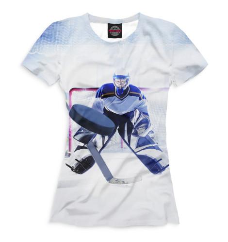 Купить Футболка для девочек Хоккей HOK-786933-fut-1