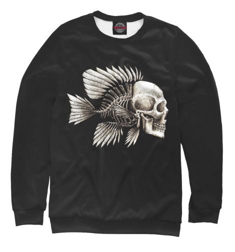 Свитшот Print Bar Skull Fish свитшот print bar skull illumitans