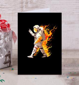 Астронавт в огне
