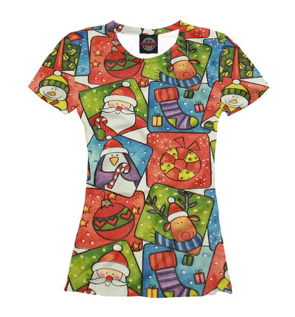 Новогоднии футболки