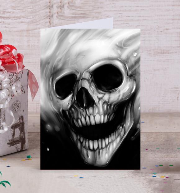 Картинки британскими, открытка с черепом