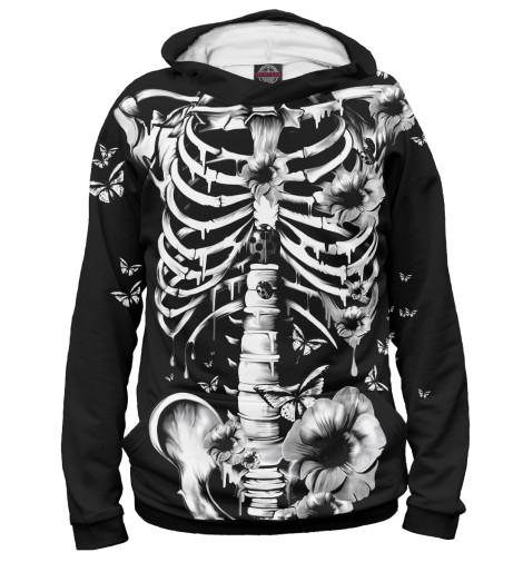 Худи Print Bar Floral Skeleton skeleton key
