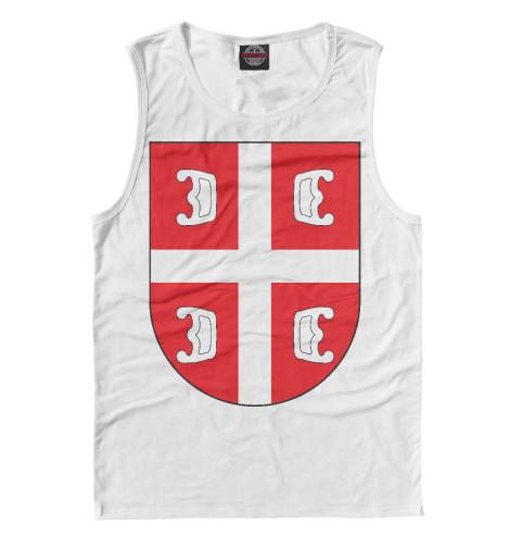 Майка Print Bar Сербский Щит футболка print bar сербский щит