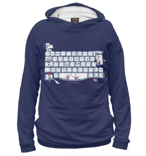 Худи Print Bar Keyboard Fun