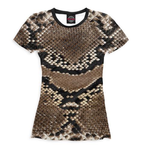 Женская футболка Питон
