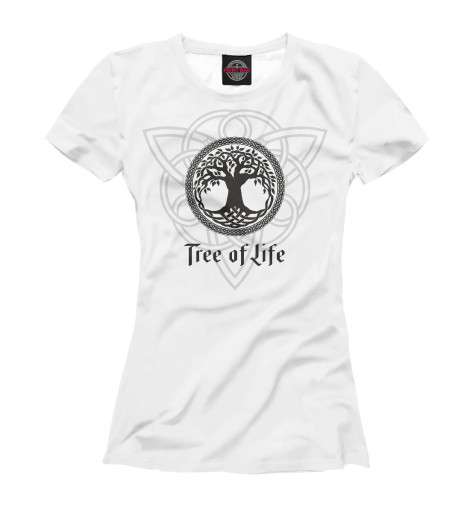 Футболка Print Bar Древо жизни футболка print bar спасаю жизни