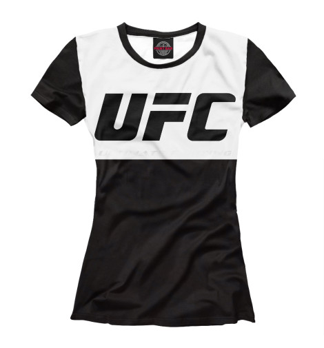 Футболка Print Bar UFC black ufc 2 ps4