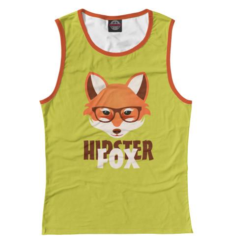 Майка Print Bar Hipster Fox майка классическая printio dead hipster