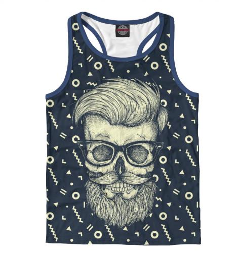 Майка борцовка Print Bar Hipster is Dead поло print bar hipster is dead