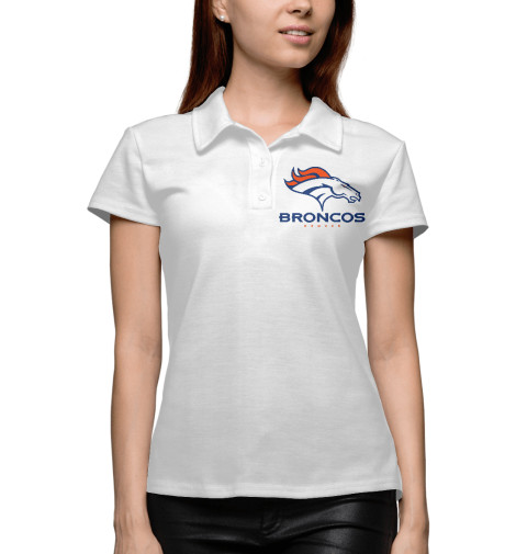Купить Женское поло Denver Broncos - Денвер Бронкос APD-335785-pol-1