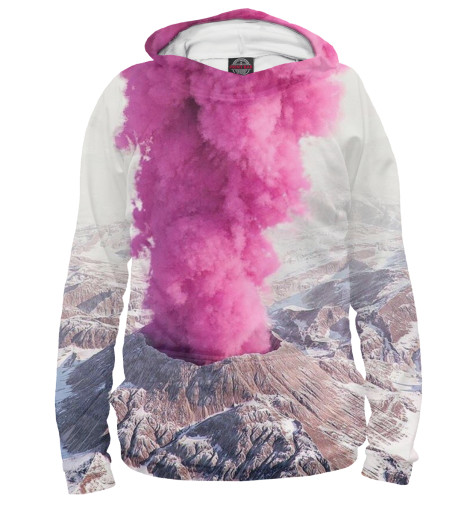 Худи Print Bar Розовый вулкан кронштейн опоры вулкан vr 500x500 нерж304