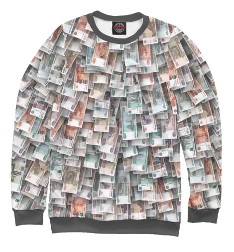 Свитшот Print Bar Российские деньги