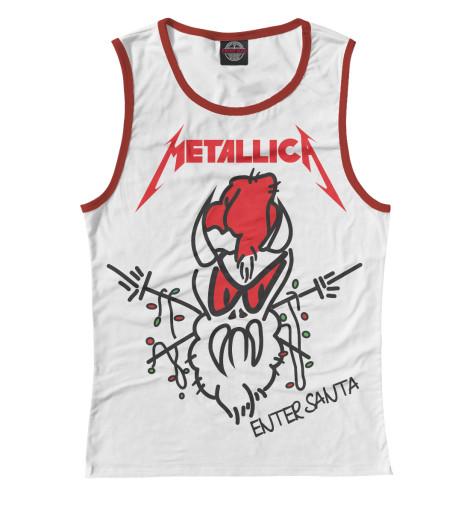 Майка Print Bar Metallica майка классическая printio i love metallica
