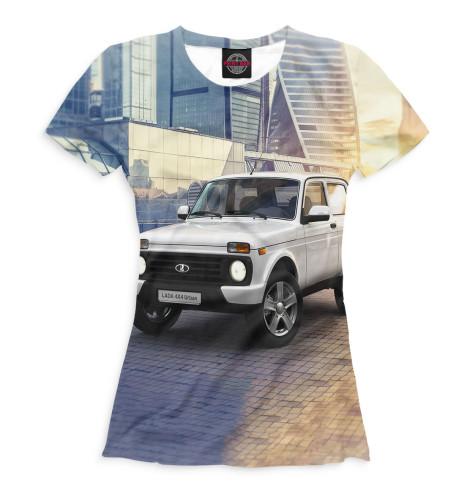 Женская футболка LADA 4x4 Urban